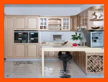Custom European modern kitchen cabinet design