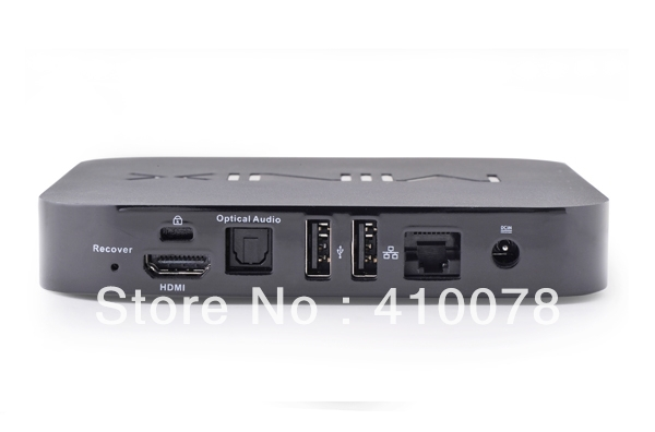 Hot MINIX NEO X5 RK3066 Dual Core Cortex A9 Google Android 4.1.1 TV Box USB RJ45 Wifi Bluetooth HDMI +RC11 Air Mouse Keyboard