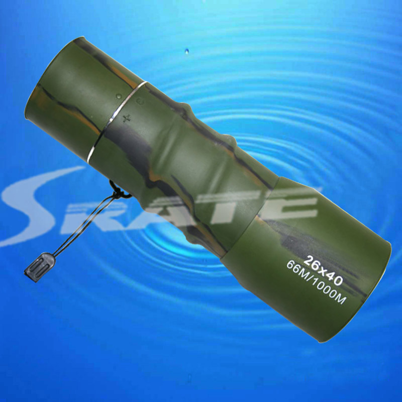26X40mm Outdoor Sporting Optical Monocular Camouflage Telescope for Hunting(China (Mainland))