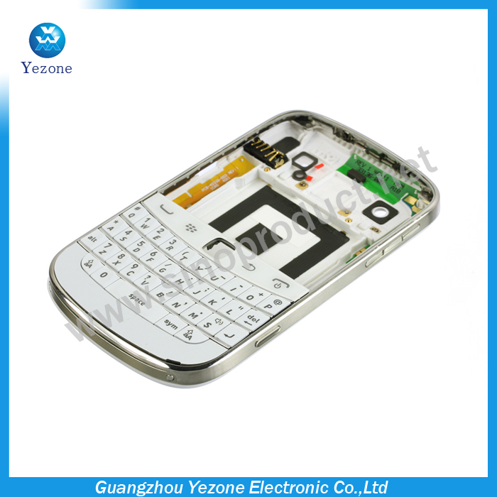 New Original Complete Full housing Case Cover For BlackBerry Bold 9900 Housing Free Shipping(China (Mainland))