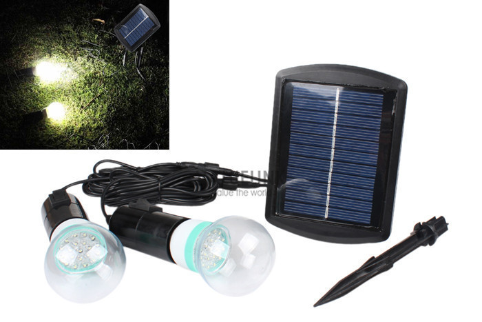 Outdoor indoor solar power led lighting system light lamp for Low power outdoor lights