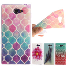Buy Butterfly Pattern Soft TPU Silicon sFor Sony M2 case Sony Xperia M2 S50h Dual D2302 D2305 D2303 D2306 Case Phone Cover for $1.36 in AliExpress store