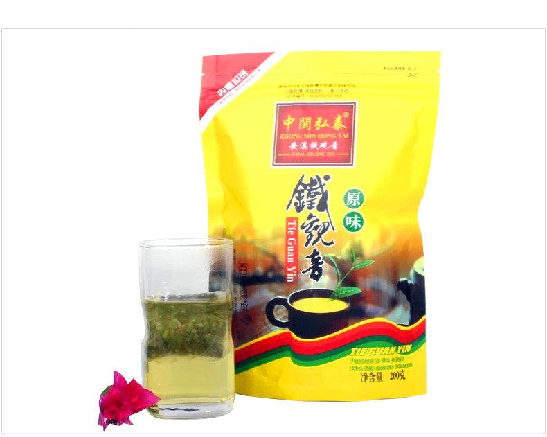 *King Tea* 2016 TieGuanYin 200g Tea Bag Thick Flavor China YunNan FuJian AnXi Chinese Oolong Cha TieKuanYin Premium Gift Bag(China (Mainland))