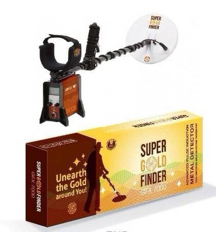 Free shipping! Wholesale GFX7000 Underground Metal Detectors Gold Detector(China (Mainland))