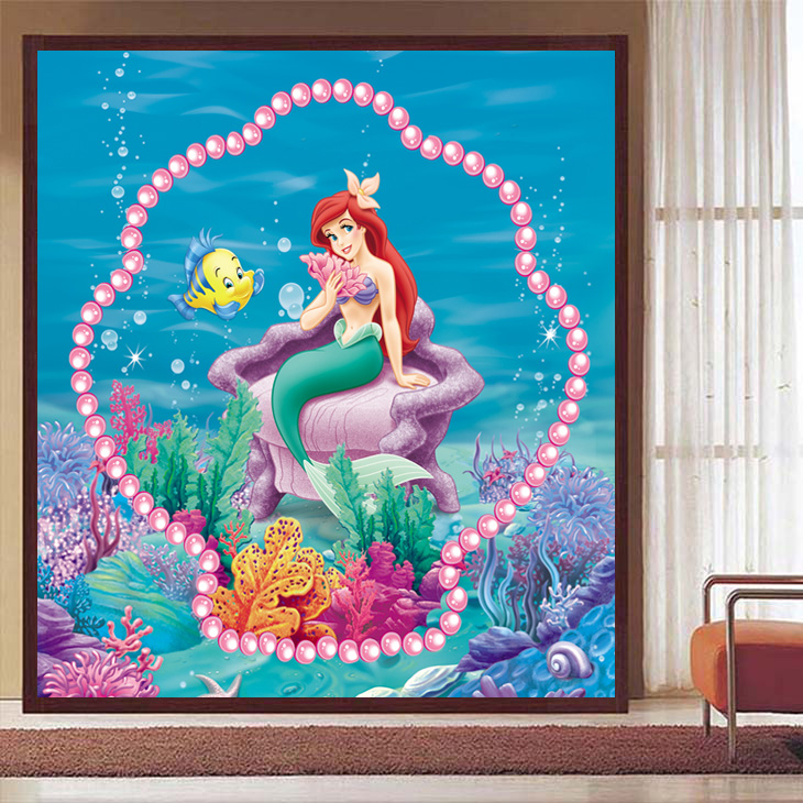 The Little Mermaid Wall Stickers All About Part 82