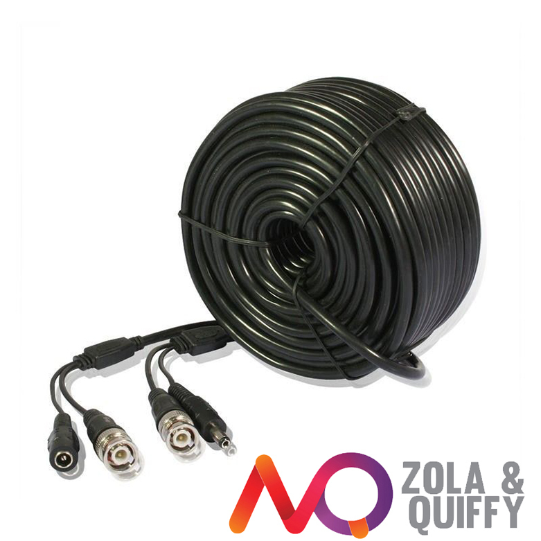 150' FT HD HEAVY PREMIUM SECURITY CCTV CAMERA CABLE SURVEILLANCE WIRE VIDEO BNC(China (Mainland))