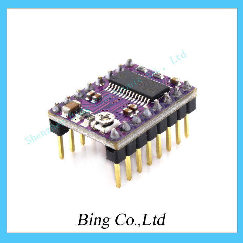 5pcs lot 3D Printer Stepstick Drv8825 Stepper Motor Driver Reprap 4 PCB Board