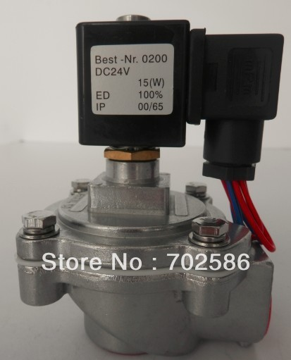"""1''  and 3/4"""" right-angle solenoid pulse valve which can replace the valve of ASCO brand"""
