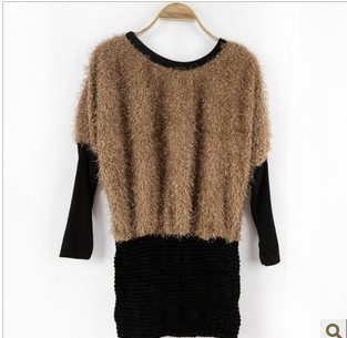 New quality trend of women's Korean retro long-sleeved bottoming corduroy dress son(China (Mainland))