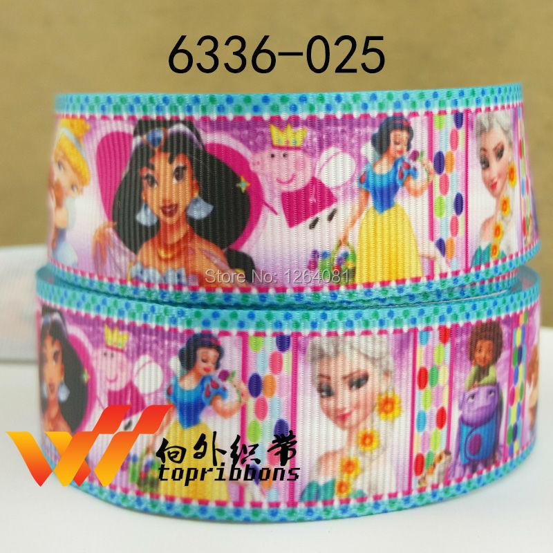 """Free shipping 1"""" (25mm) sample gift ribbons Grosgrain printed ribbon Gift packing ribbon 50 yards/roll 6336-025(China (Mainland))"""