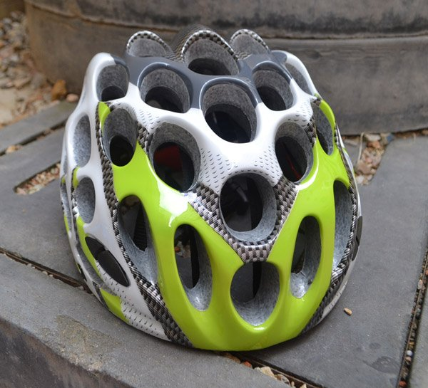 2015 New Cool Green COSI Cycling sport Bicycle safety Helmet 39 Holes Air Vents bike helmet Free Shipping(China (Mainland))