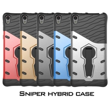 Buy Sony Xperia E5 Case Heavy Duty Armor Shockproof Hard Soft Silicone Phone Case Soni Experia E5 Rugged Rubber Cover for $4.88 in AliExpress store