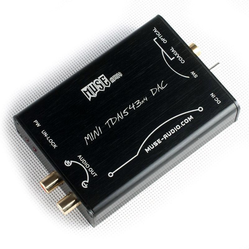 Здесь можно купить  Muse Digital audio decoder DAC fiber-coaxial signal converter converts the analog input signal output  Электронные компоненты и материалы