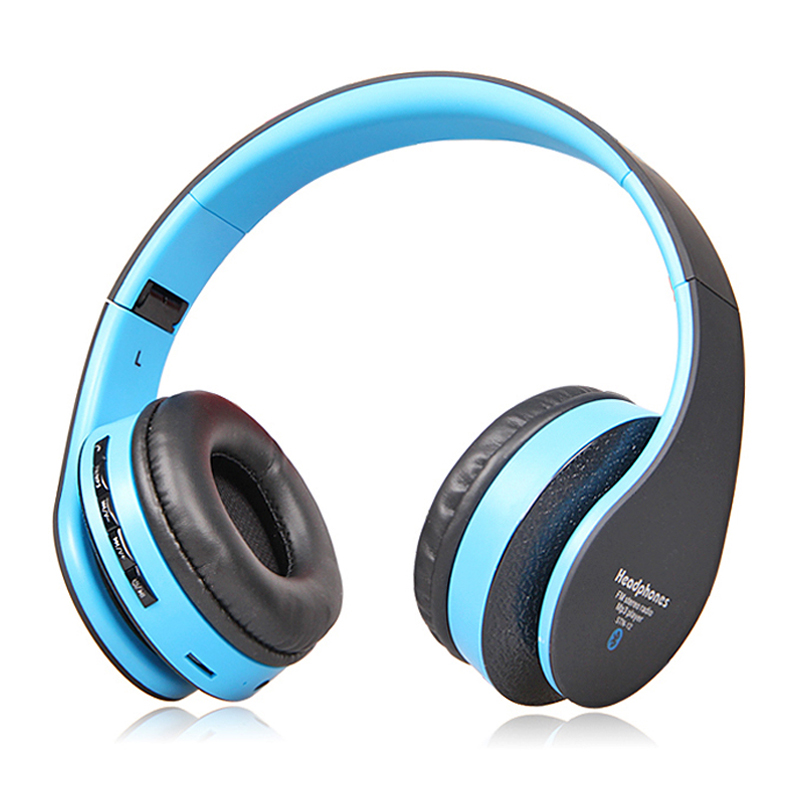 HiFi Noise Cancelling Wireless Super Bass Stereo Bluetooth Headset Headphone With MIC, Support FM Radio & TF Card(China (Mainland))