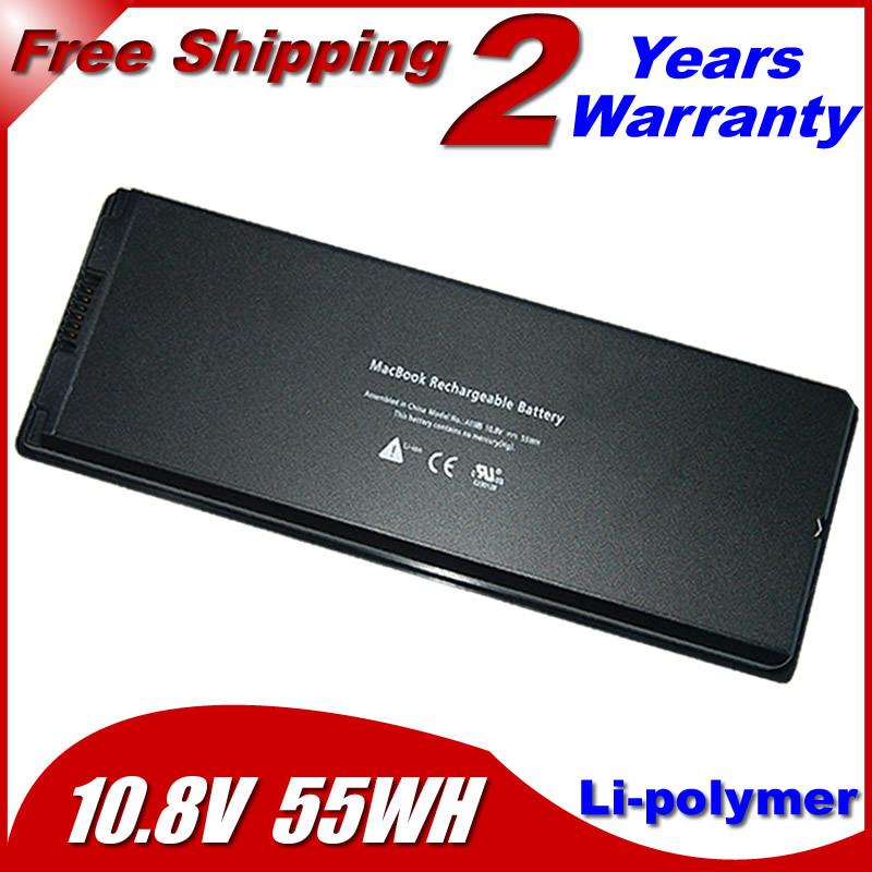 """Laptop Battery For apple MacBook 13"""" A1181 MA472 MA701 A1185 MA566 MA566FE/A MA566G/A MA566J/A Black(China (Mainland))"""