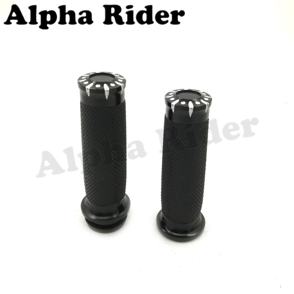 1 Hand Grips For Harley Road King Glide Touring Handle Bar Electronic Throttle Motors Motorcycle Parts