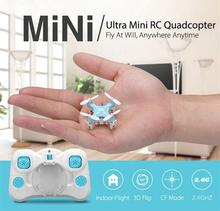 Intelligent remote control JJRC DHD D1 Supper Mini Pocket Drone 2.4G 4CH Helicopter free shipping