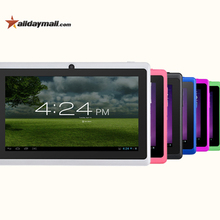 ALLDAYMALL A88X 7 inch Android4.4 Tablet PC Allwinner Quad Core Dual Camera External 3G/Wifi 8GB ROM 1024×600 HD Color children