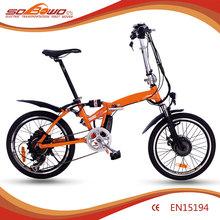SOBOWO Mini E bike China 250W Brushless Motor E-bike China Supplier(China (Mainland))