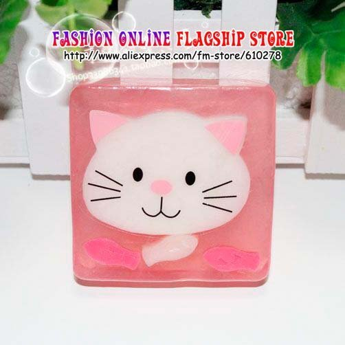 Free Shipping Crystal Fairy handmade cartoon soaps,Natural Toilet Soap,essential oil soap,new strange creative gift