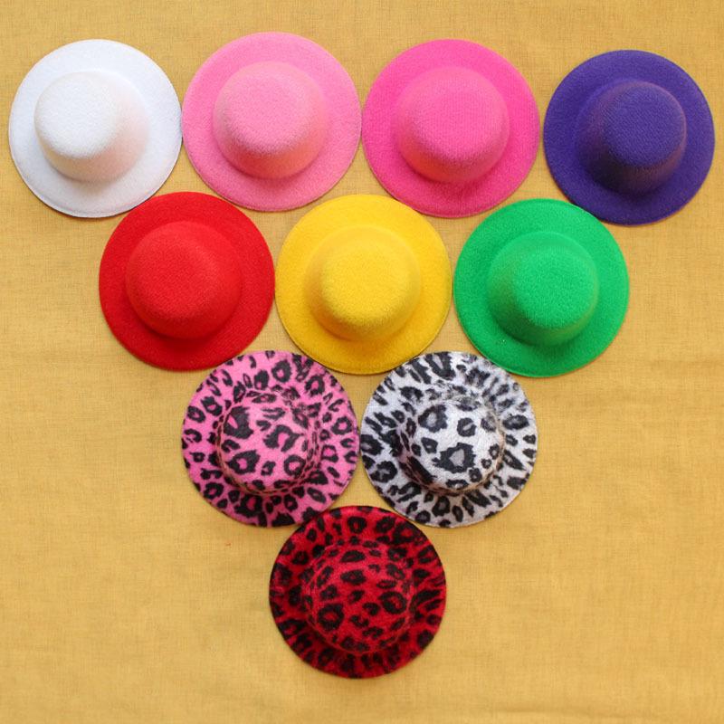 "50pcs/lot,3"" Hen Party Felt Plain Mini Top Hat,mini top hat, small felt hat,BF062(China (Mainland))"
