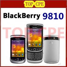 BlackBerry Torch 9810 mobile phone Original Unlocked Refurbished 9810 3G phone 8G ROM Camera 5.0MP Free shipping(China (Mainland))