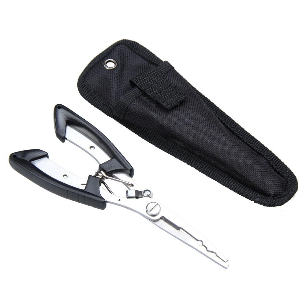 Гаджет  Fishing Pliers Scissors Line Cutter Remove Hook Tackle Stainless Steel Tool H1E1 None Спорт и развлечения