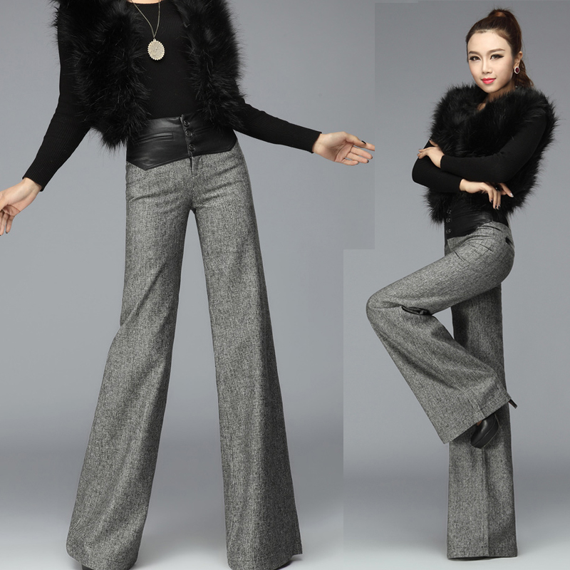 Compare Prices on Women Wide Leg Trouser- Online Shopping/Buy Low ...