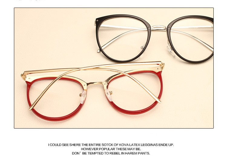 Vintage Decoration Optical Eyeglasses Frame for the myopia metal Spectacles oculos de gra 5