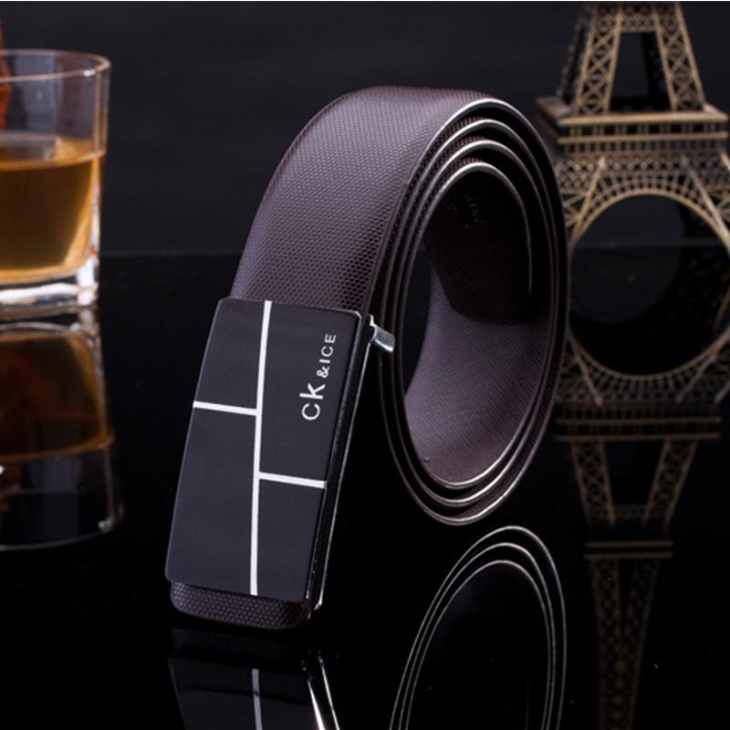 2016 New Men's Leather Brands belt cummerbund For Men/women metal buckle mens belts luxury designer belts men high quality strap(China (Mainland))