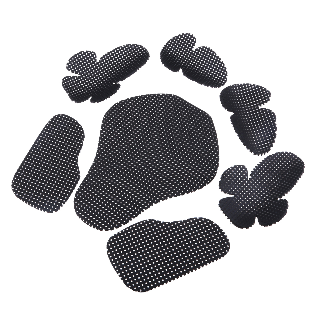 New EVA Motorcycle Elbow Back Shoulder Chest Protection Pad Body Protective Gear Black Dropshipping 29cm*39cm