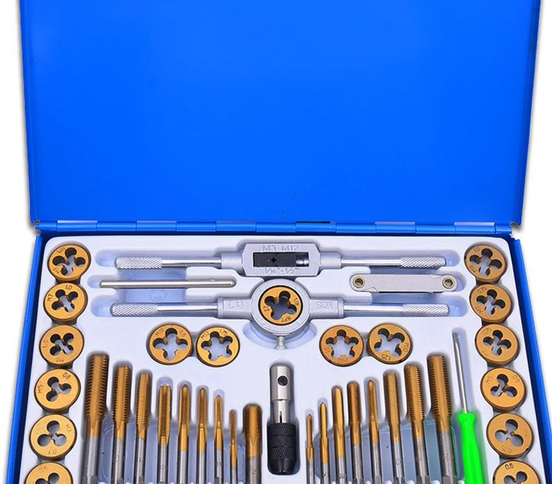 Tapping wrench twisted wire tapping hand tools metric tap die package combination of hardware dies Hand wire