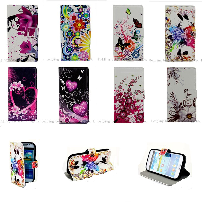 High Quality Fashion Leather Book Case For Samsung Galaxy Galaxy Win i8552 8552 GT-I8552 GT-I8550 Phone Wallet Cover Case(China (Mainland))