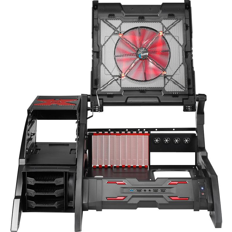 2015 Hot Sale Strike-X open game box Air space station gaming computer desktop case Freeshipping(China (Mainland))