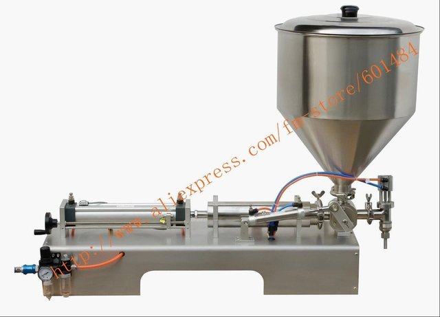 Free Shipping paste filling machine(0-300ml)+new arrive +pneumatic+stainless steel + free shipping