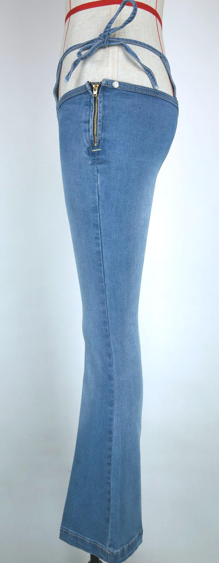 sexy women low rise waist waist nightclub jeans sexy bandage bandage hollow low waist. Black Bedroom Furniture Sets. Home Design Ideas