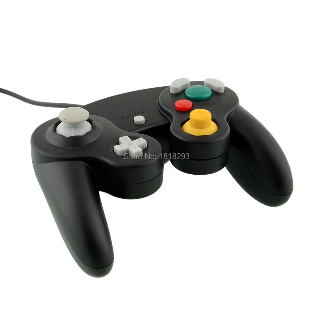 Free Shipping Hot New Arrival Video Wired GamePad Joypad Controller For Nintendo Wii GameCube For Nintendo Console(China (Mainland))