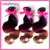 Ombre Human Hair Bundles 3 Piece Mike&Mary 3 Toned Remy Human Hair Weave Double Weft Body Wave Human Hair Weave Bundle Extension