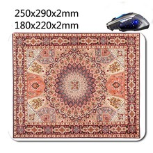 Persian carpet style mouse Pad, beautifu l Appearance, And three new store sales promotion to buy a Discount(China (Mainland))