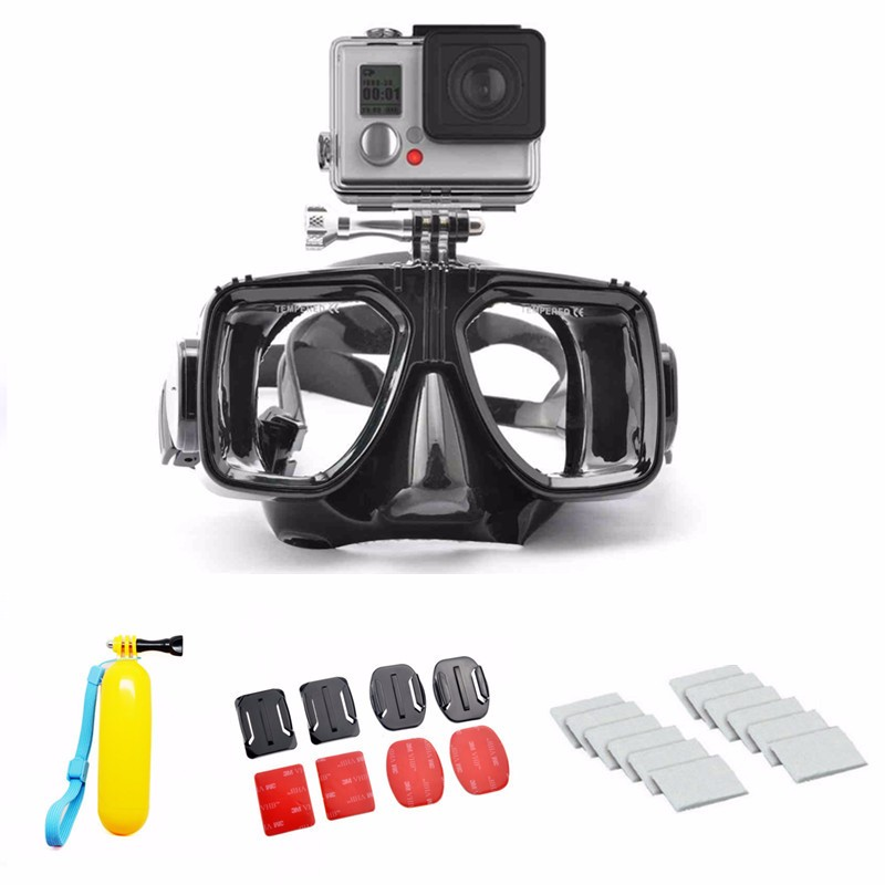 GOPRO ACCESSOIRES DIVING MOUNT SCUBA MASK FLOATING HANDLE SET for GOPRO HERO 4 3+ 3 2 and SJ4000 SJ5000 SJ6000 FREE SHIPPING<br><br>Aliexpress