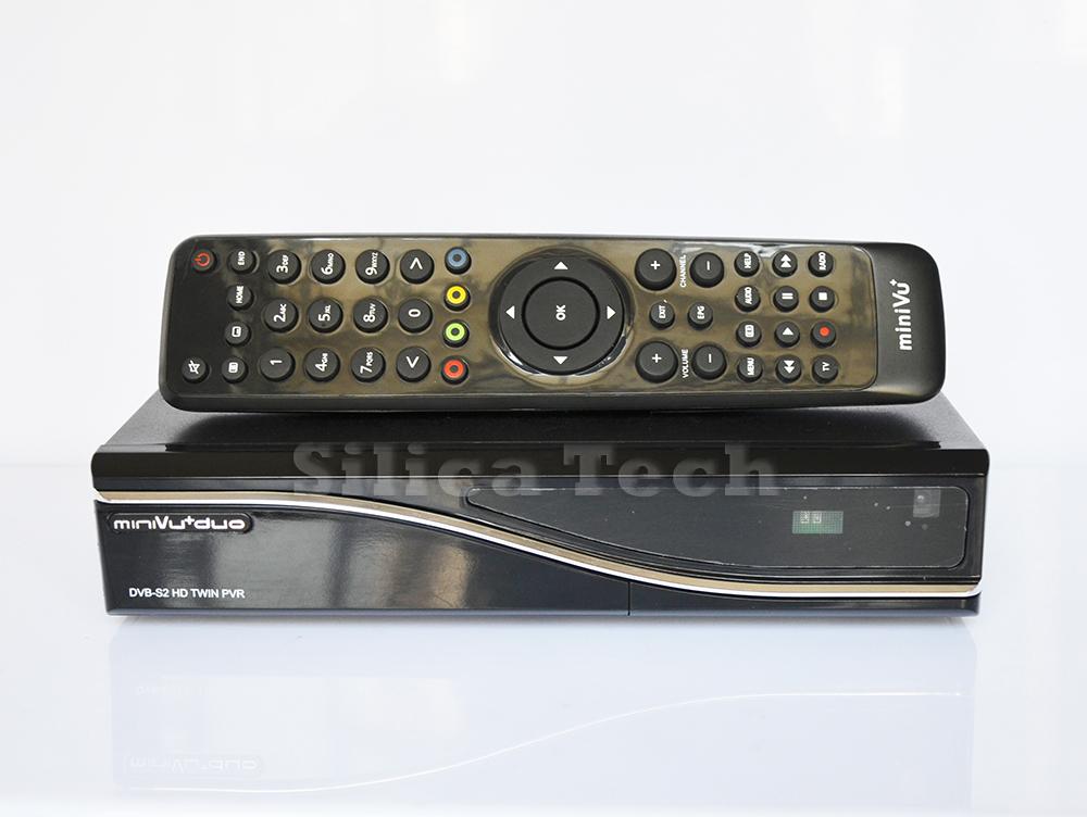 MINI VU DUO Dual Tuner DVB-S2 Satellite TV Receiver 405mhz OpenPli(Hong Kong)