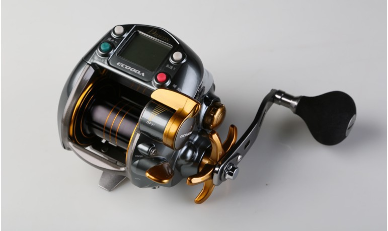 Buy free shipping olympus ecooda dragon for Electric fishing reels