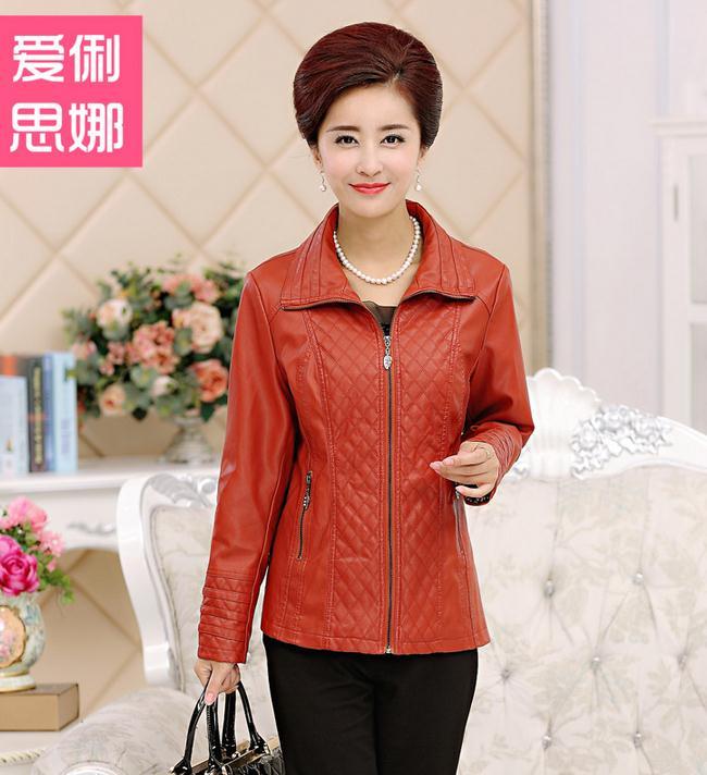 Leather Jacket Women Jaqueta De Couro Feminina PU Women's Faux Leather 2 Colors Plus Size Women Clothing 4XL Veste Cuir Femme