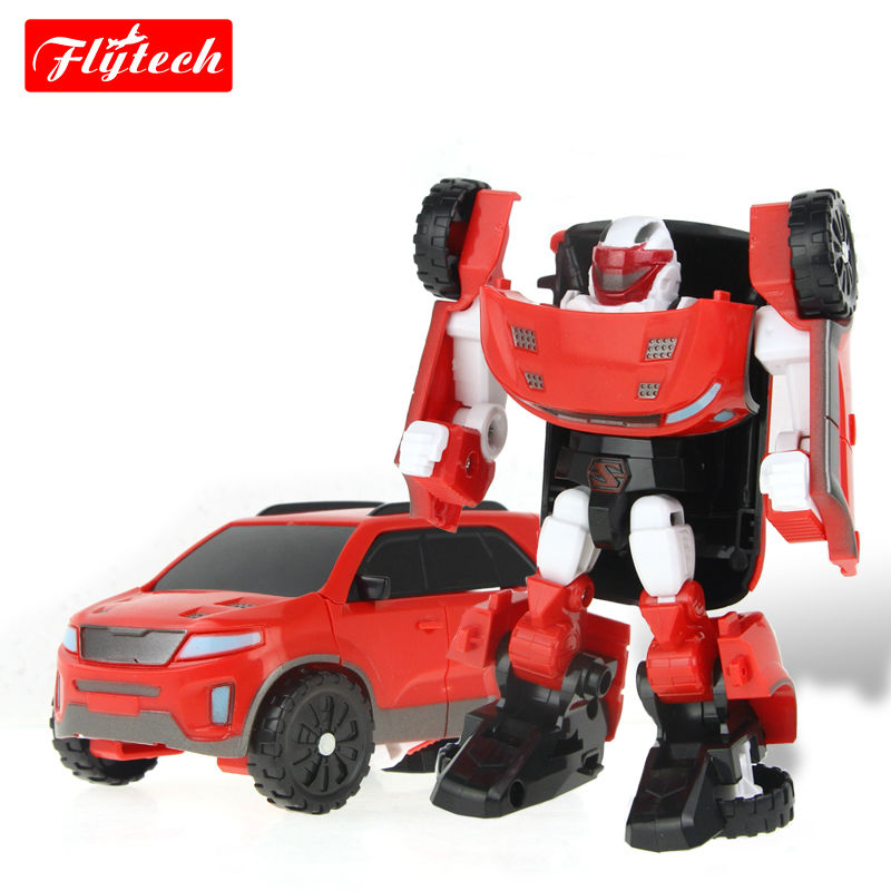 Yong Toy Tobot to car Cartoon Deformation Robot Tobot Brothers Anime Quartran toys Juguetes kids gift WITHOUT ORIGINAL BOX(China (Mainland))