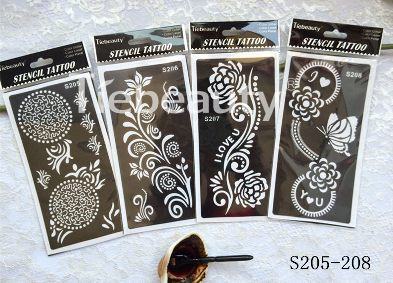 Mehndi Henna Kit Price : Wholesale pcs xtemporary indian mehndi henna tattoo paste