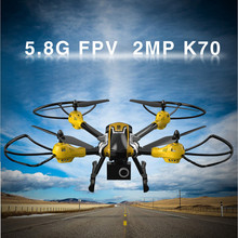 RC Drone with camera K70 Professional Drones with camera hd adjustable head RC Quadcopter 6-Axis Gyro RC Helicopter VS MJX X101
