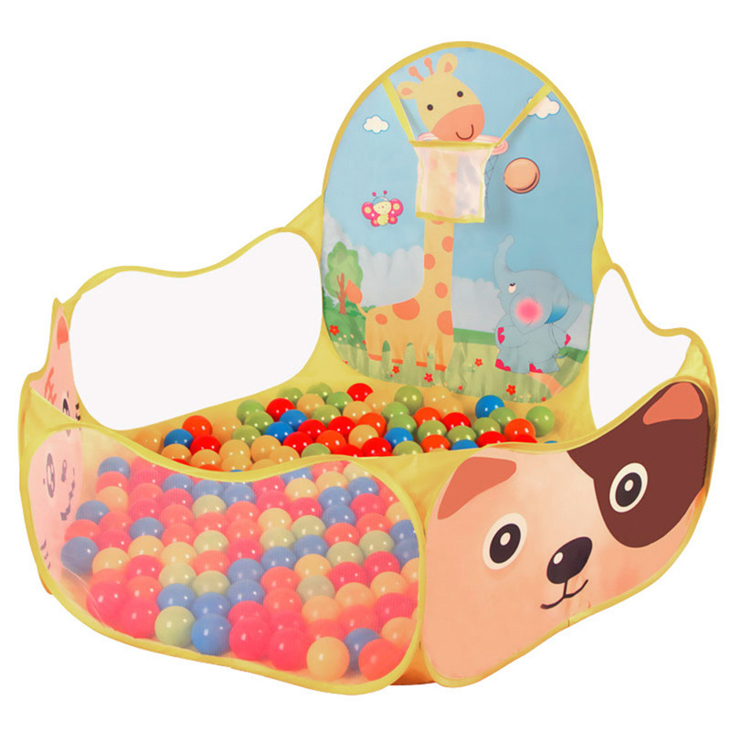 BS#S Indoor Kids Game Play Toy Tent Outdoor Portable Ocean Ball Pit Pool Free Shipping(China (Mainland))