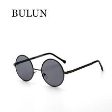 BULUN vintage Round steampunk Sunglasses Women Brand Designer Sun Glass  Female Oculos De Sol Feminino Lentes Gafas With Case