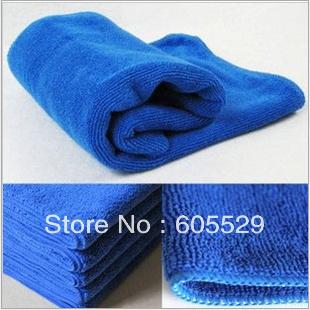 Microfiber Towel Car Auto Cleaning Wash Clean Detailing Cloth Rag 30X30CM 50pcs/lot Free Shipping(China (Mainland))