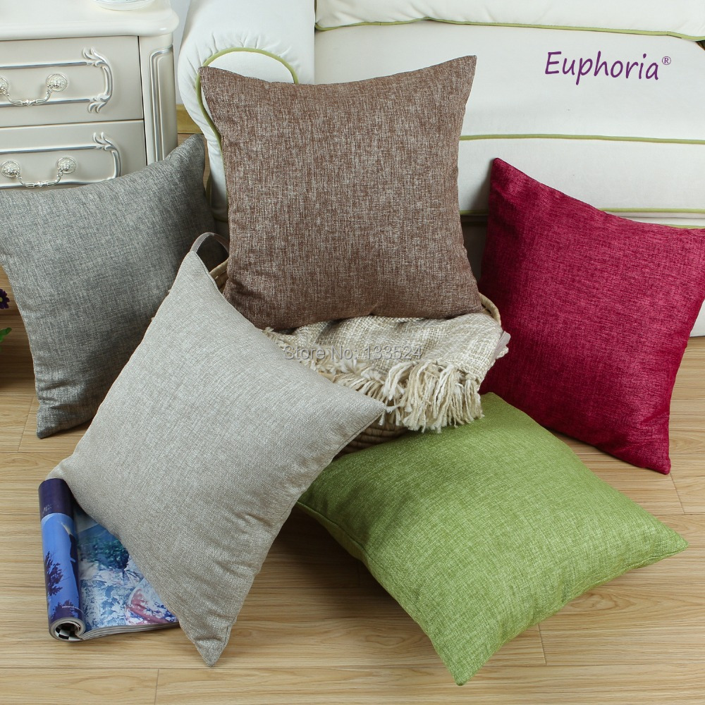 Decorative Pillow Sets For Bed : Aliexpress.com : Buy Cushion Cover Decorative Pillow Shell Home Sofa Car Bedding Set Polyester ...